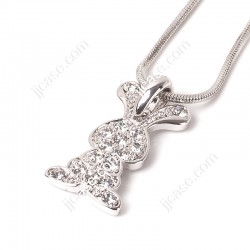 Rabbit Bunny Pendant Necklace