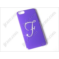 "Initial F Cellphone Color Gilding Case with Swarovski Elements for iPhone 6 (4.7"")"