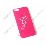 "Initial G Cellphone Color Gilding Case with Swarovski Elements for iPhone 6 (4.7"")"