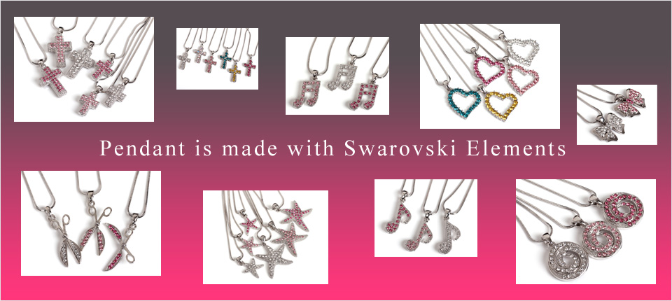 Pendant is made with Swarovski Elements